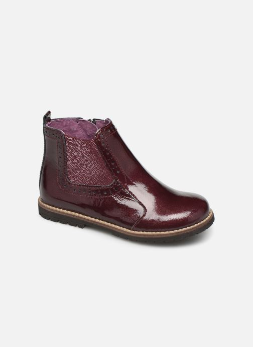 Ankle boots Little Mary Florence Burgundy detailed view/ Pair view