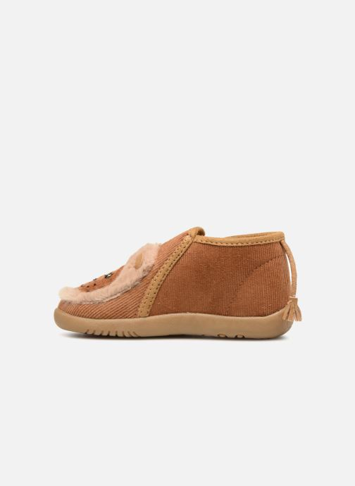 Chaussons Little Mary LionZip Marron vue face
