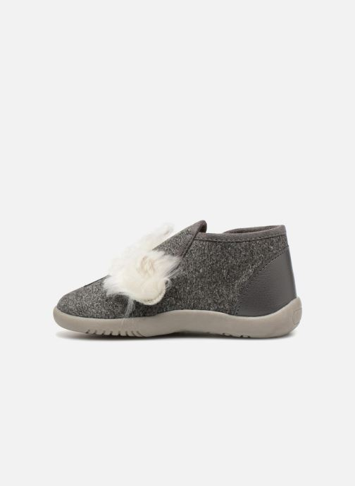 Chaussons Little Mary KoalaZip Gris vue face