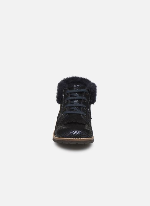 Bottines et boots Little Mary Chamonnix Bleu vue portées chaussures