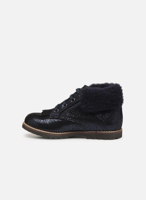 Bottines et boots Little Mary Chamonnix Bleu vue face