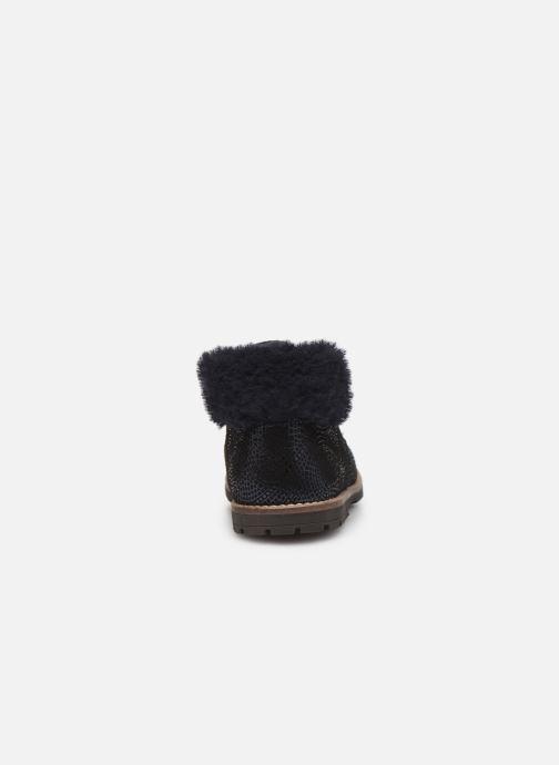 Bottines et boots Little Mary Chamonnix Bleu vue droite