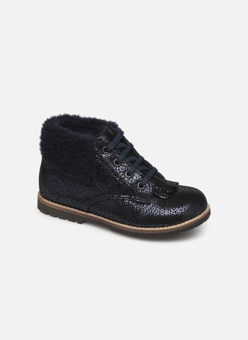 Bottines et boots Little Mary Chamonnix Bleu vue détail/paire