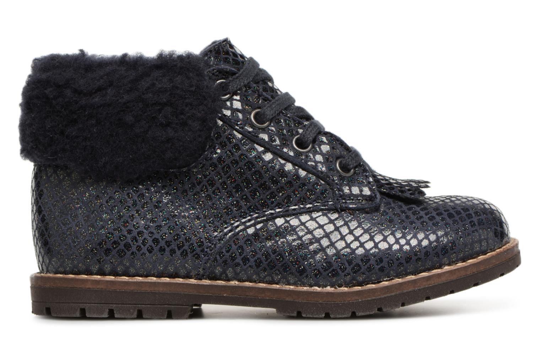 Bottines et boots Little Mary Chamonnix Bleu vue derrière
