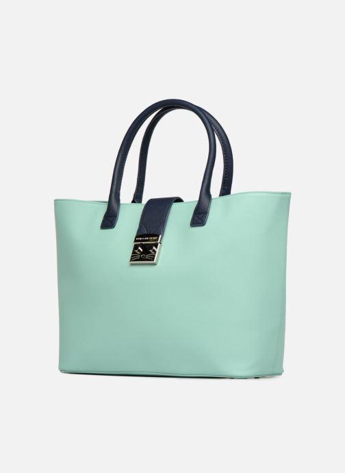 Handbags Paul & Joe Sister HELIANE Blue model view