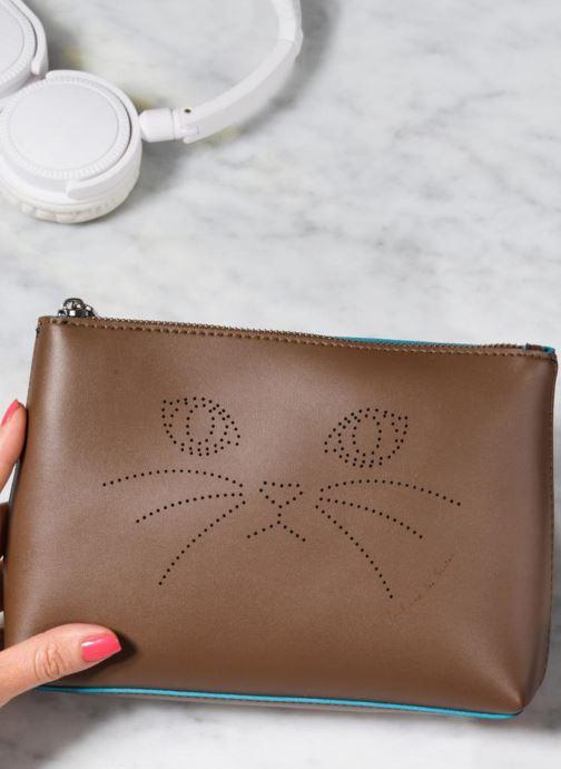 Portemonnaies & Clutches Paul & Joe Sister IONA braun ansicht von unten / tasche getragen