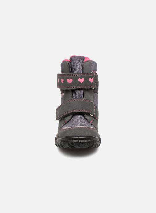 Chaussures de sport Superfit Husky heart GTX Gris vue portées chaussures