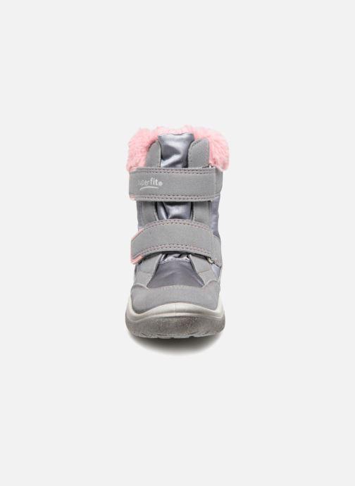 Chaussures de sport Superfit Crystal GTX Gris vue portées chaussures