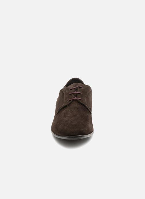 Chaussures à lacets Kost KOOL5 Marron vue portées chaussures