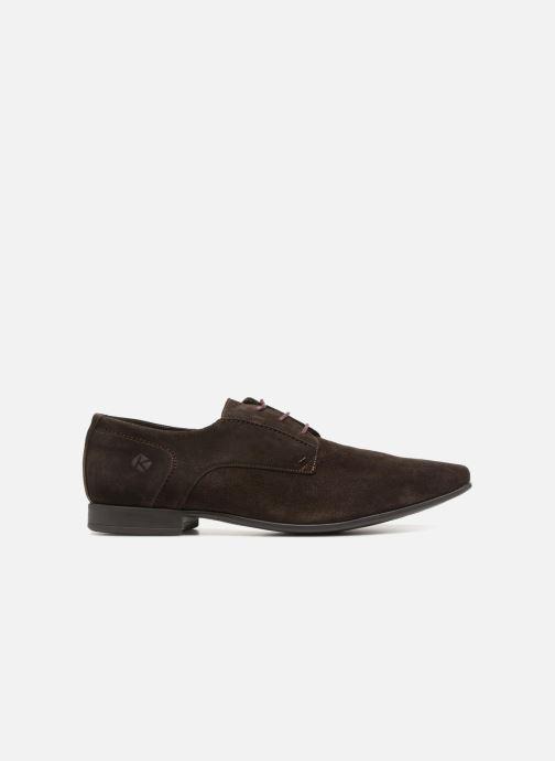 Chaussures à lacets Kost KOOL5 Marron vue derrière