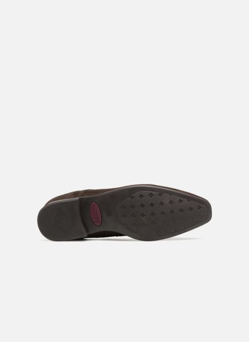 Chaussures à lacets Kost KOOL5 Marron vue haut