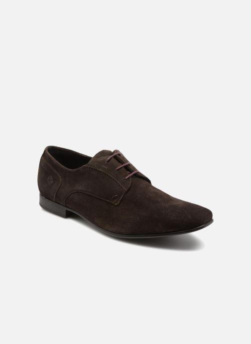 Chaussures à lacets Kost KOOL5 Marron vue détail/paire