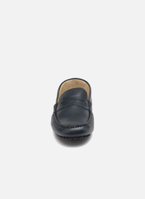 Mocassins Kost TOOLUN Bleu vue portées chaussures