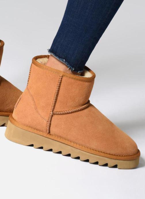 Boots en enkellaarsjes Colors of California Aymee Bruin onder
