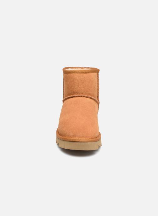 Bottines et boots Colors of California Aymee Marron vue portées chaussures