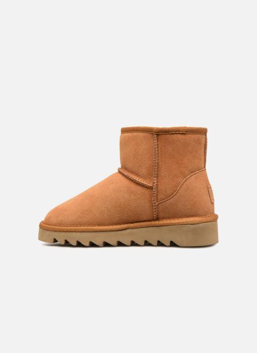 Bottines et boots Colors of California Aymee Marron vue face