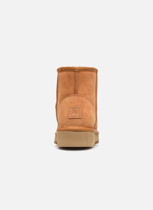 Bottines et boots Colors of California Aymee Marron vue droite