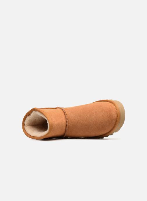 Bottines et boots Colors of California Aymee Marron vue gauche