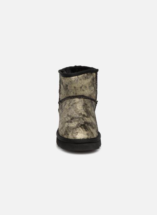 Bottines et boots Colors of California Laura Or et bronze vue portées chaussures