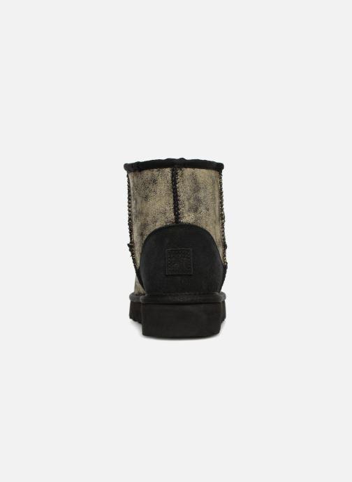 Bottines et boots Colors of California Laura Or et bronze vue droite
