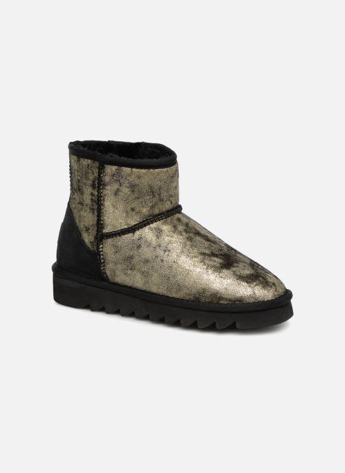 Bottines et boots Colors of California Laura Or et bronze vue détail/paire