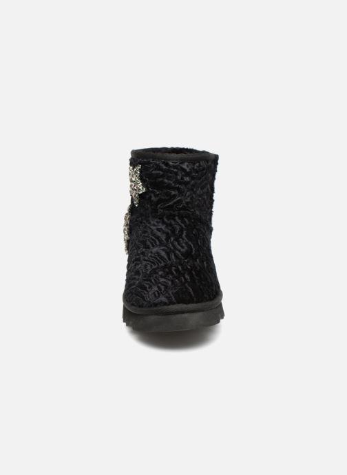 Bottines et boots Colors of California Jordana Noir vue portées chaussures