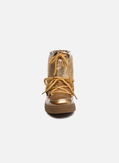 Zapatillas de deporte Colors of California Sherine Oro y bronce vista del modelo