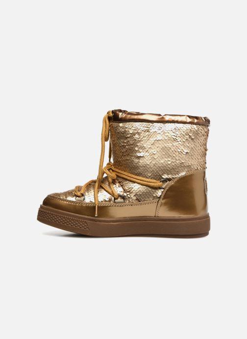 Chaussures de sport Colors of California Sherine Or et bronze vue face