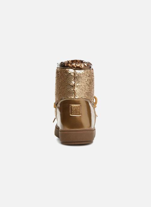 Chaussures de sport Colors of California Sherine Or et bronze vue droite
