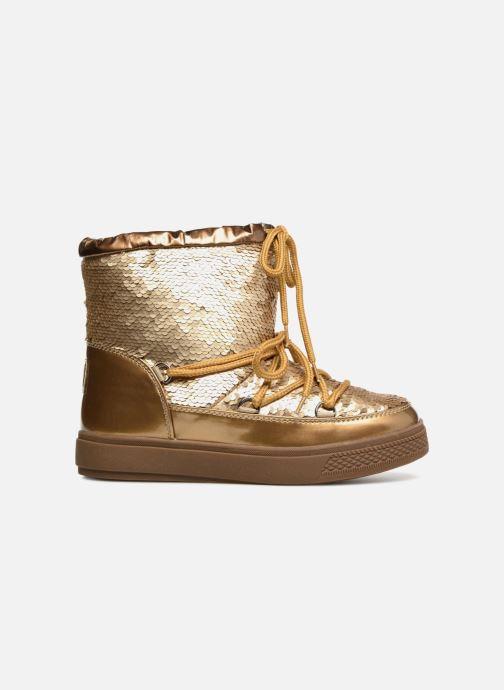 Zapatillas de deporte Colors of California Sherine Oro y bronce vistra trasera