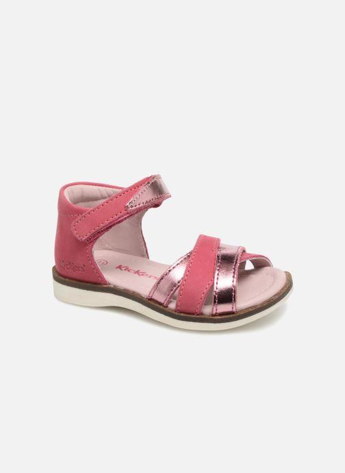 e26183f16c9e3e Kickers GIGI E (Rose) - Sandales et nu-pieds chez Sarenza (328207)