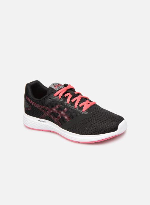 Chaussures de sport Asics Patriot 10 GS Noir vue détail/paire