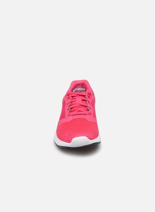 Chaussures de sport Asics Patriot 10 GS Rose vue portées chaussures