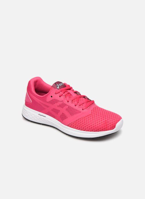 Sportssko Asics Patriot 10 GS Pink detaljeret billede af skoene