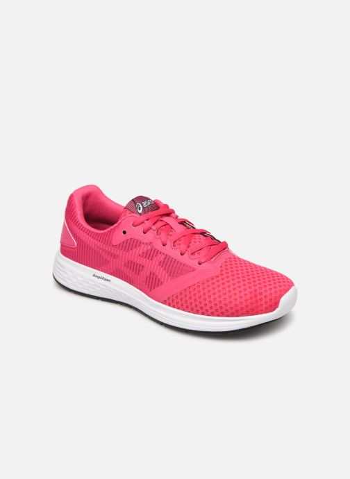 Sport shoes Asics Patriot 10 GS Pink detailed view/ Pair view