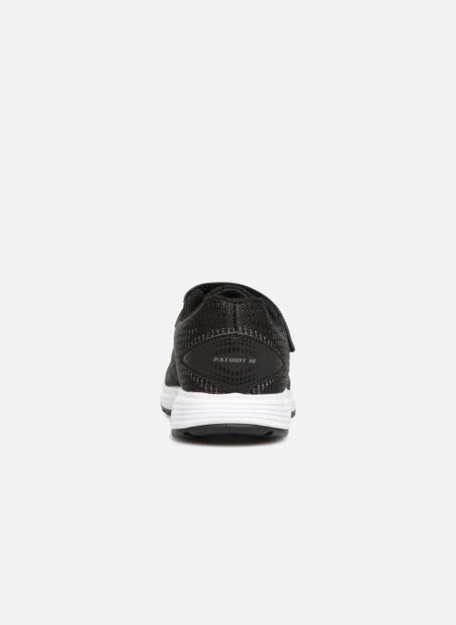 Chaussures de sport Asics Patriot 10 PS Noir vue droite