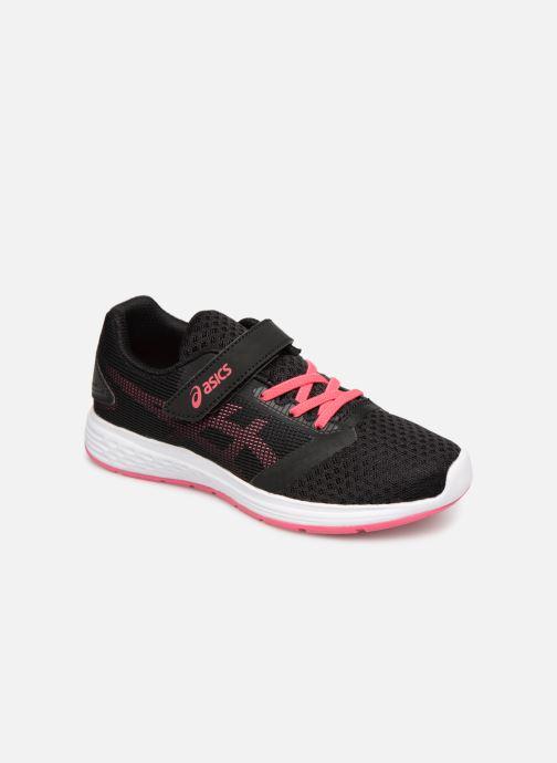 Chaussures de sport Asics Patriot 10 PS Noir vue détail/paire