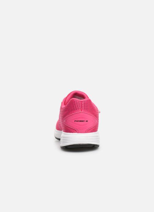 Chaussures de sport Asics Patriot 10 PS Rose vue droite