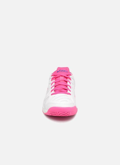 Chaussures de sport Asics Gel-Game 5 K Blanc vue portées chaussures