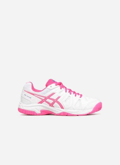 Chaussures de sport Asics Gel-Game 5 K Blanc vue derrière