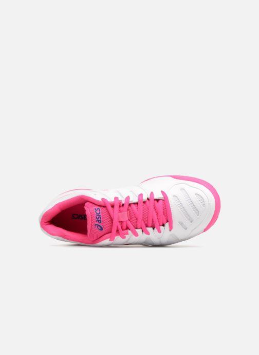 Chaussures de sport Asics Gel-Game 5 K Blanc vue gauche