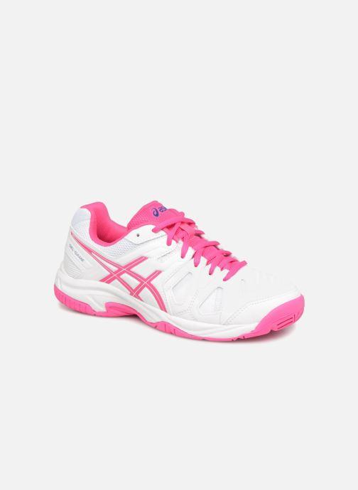 Chaussures de sport Asics Gel-Game 5 K Blanc vue détail/paire