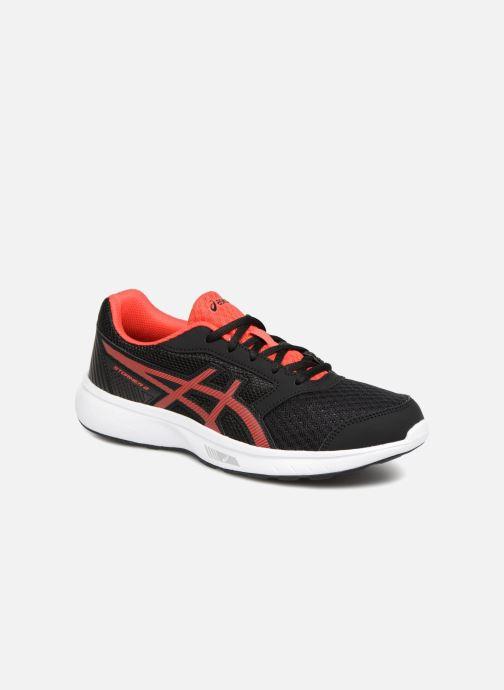 Chaussures de sport Asics Stormer 2 GS Noir vue détail/paire
