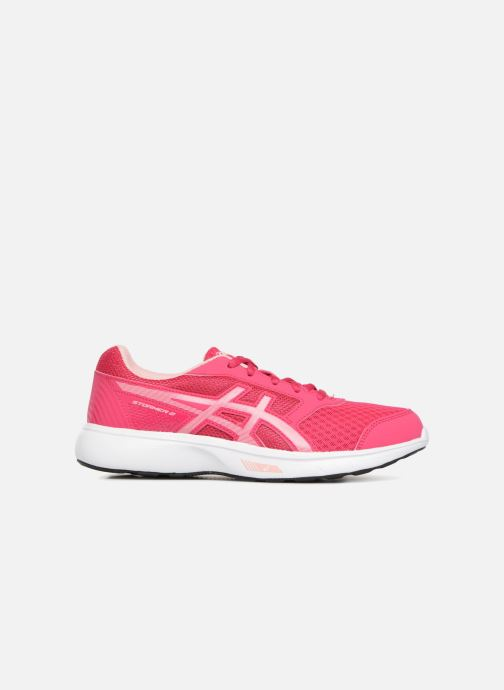 Sport shoes Asics Stormer 2 GS Pink back view