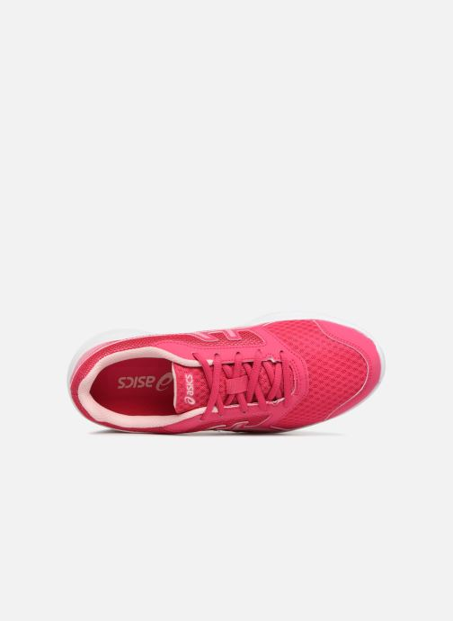 Sport shoes Asics Stormer 2 GS Pink view from the left
