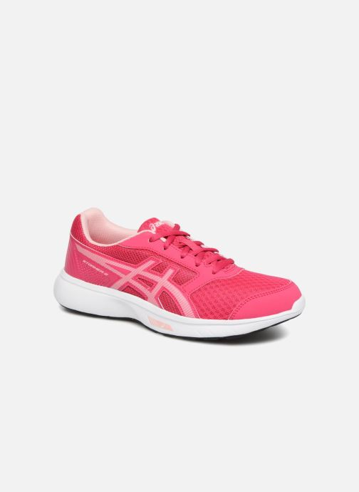 Sport shoes Asics Stormer 2 GS Pink detailed view/ Pair view