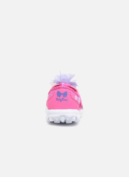 Deportivas Skechers GO WALK 4 BITTY BLOOMS Rosa vista lateral derecha