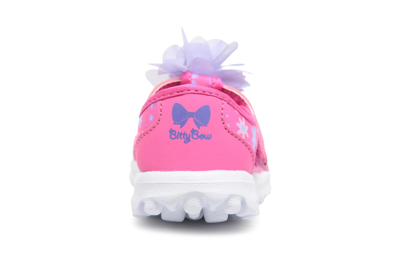Sneakers Skechers GO WALK 4 BITTY BLOOMS Rosa immagine destra