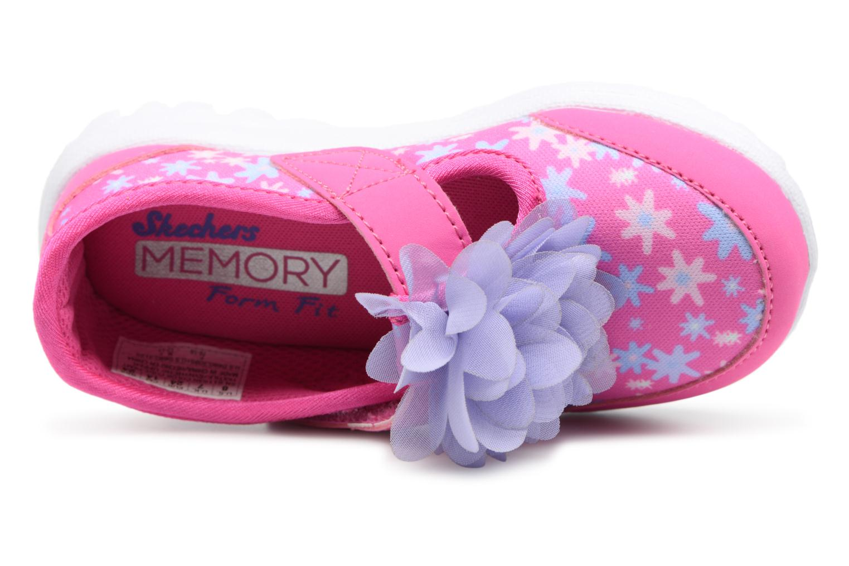 Sneakers Skechers GO WALK 4 BITTY BLOOMS Rosa immagine sinistra