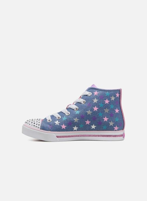 Baskets Skechers SPARKLE GLITZ SHINY STARZ Violet vue face